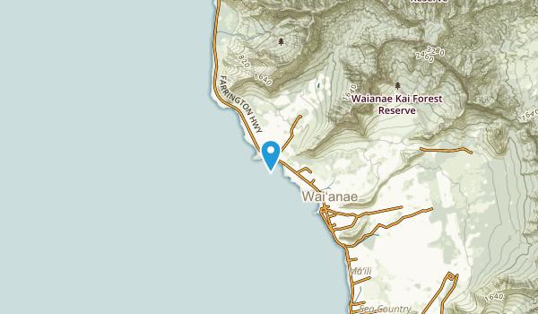Makaha, Hawaii Map