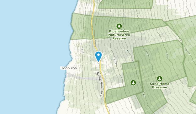 Papa, Hawaii Map