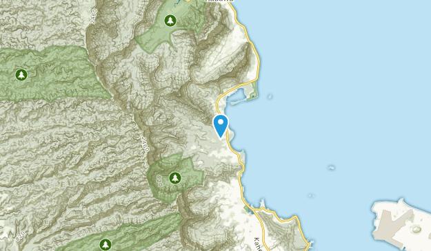 Waikane, Hawaii Map