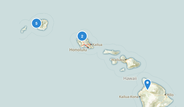 Waimea, Hawaii Map