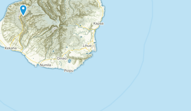 Waimea, Hawaii Map