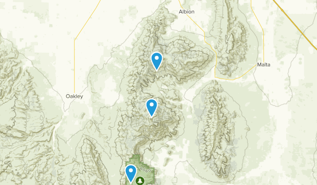 Albion, Idaho Map