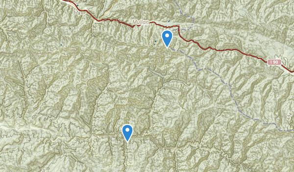 Avery, Idaho Map