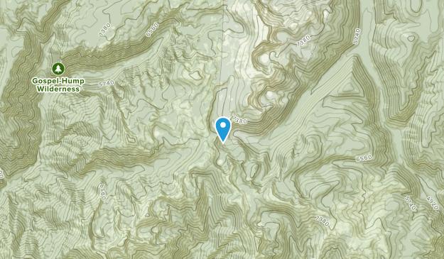 Concord, Idaho Map