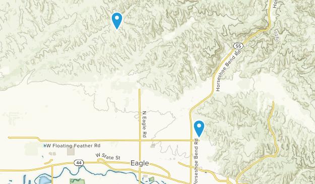 Eagle, Idaho Map