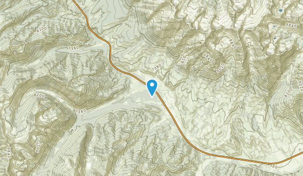 Easley Hot Springs, Idaho Map