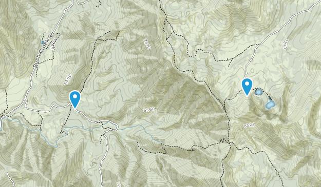 Glendale, Idaho Map