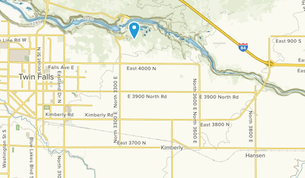 Kimberly, Idaho Map