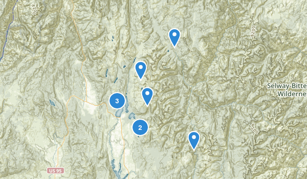 McCall, Idaho Map