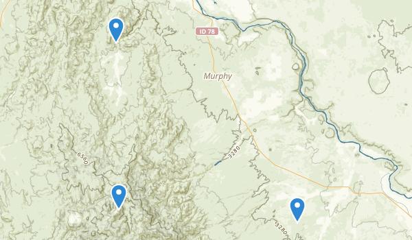 Murphy, Idaho Map