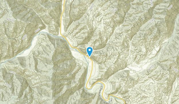 North Fork, Idaho Map