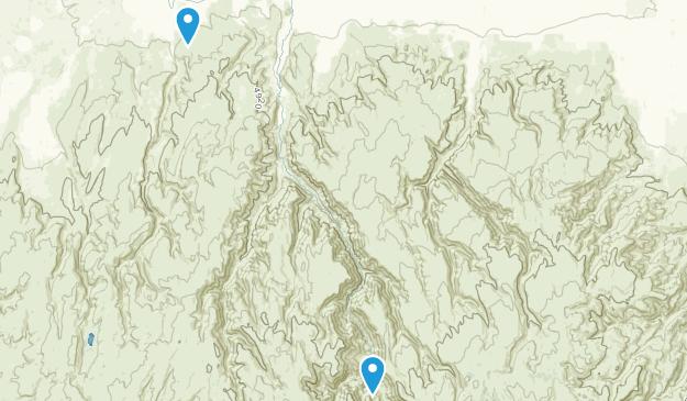 Oakley, Idaho Map
