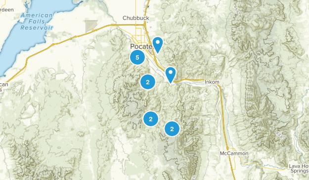 Pocatello, Idaho Map