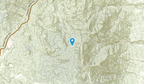 Portneuf, Idaho Map