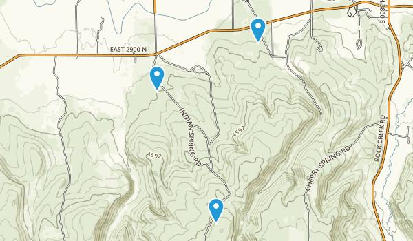 Rock Creek, Idaho Map