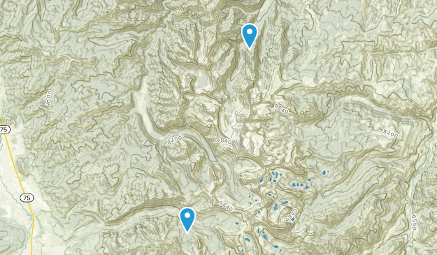 Torreys, Idaho Map