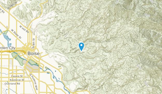 Vernon, Idaho Map