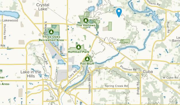 Algonquin, Illinois Map
