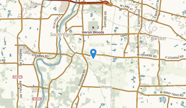 Bartlett, Illinois Map