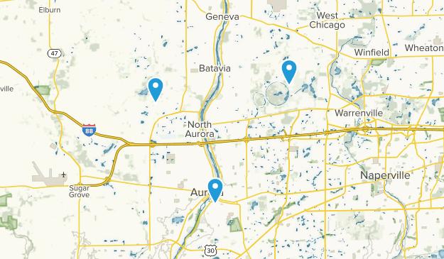 Batavia, Illinois Map