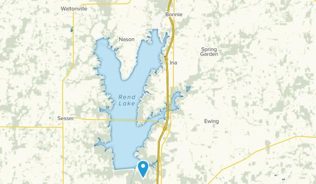 Bonnie, Illinois Map