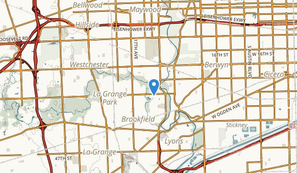 Brookfield, Illinois Map