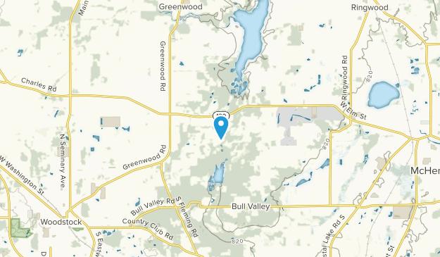 Bull Valley, Illinois Map