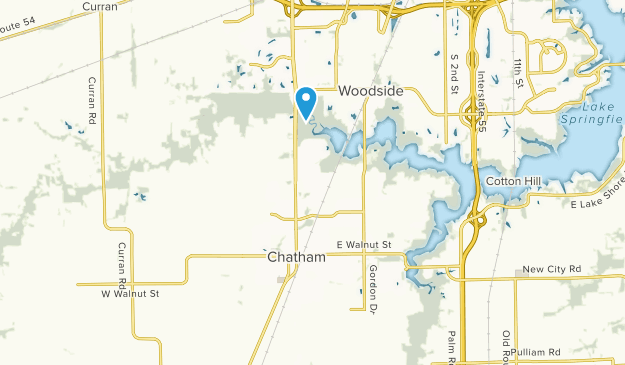 Chatham, Illinois Map