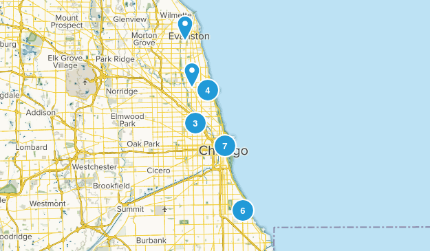 Chicago, Illinois Map