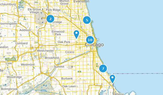 Map Of Trails Near Chicago Illinois Alltrails