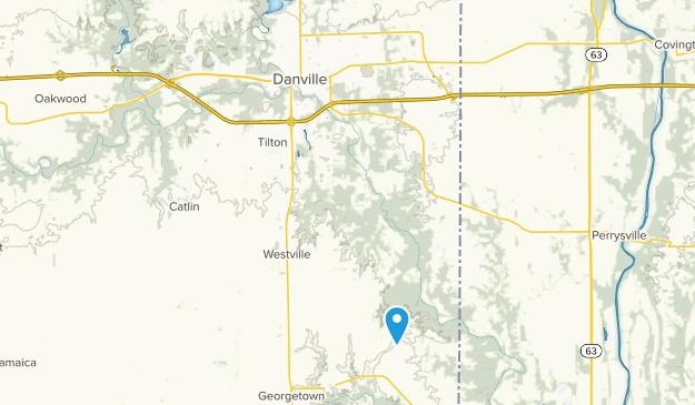 Danville, Illinois Map