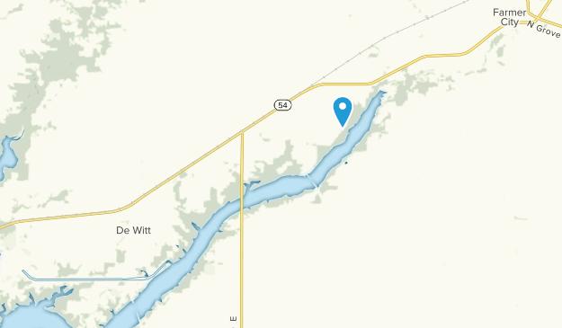 De Witt, Illinois Map