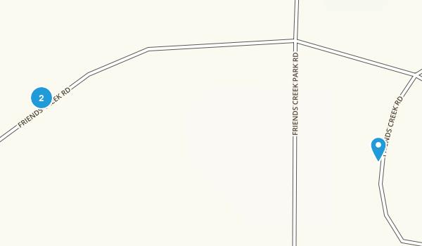 Friends Creek, Illinois Map
