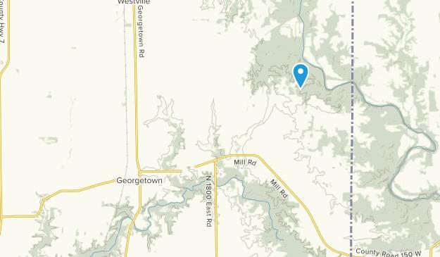 Georgetown, Illinois Map