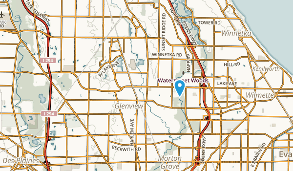 Glenview, Illinois Map