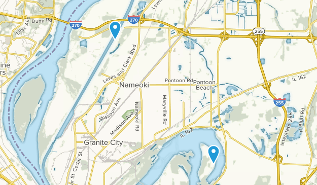 Granite City, Illinois Map