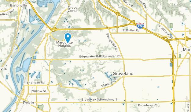 Groveland, Illinois Map