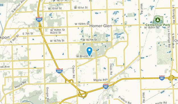Hadley, Illinois Map