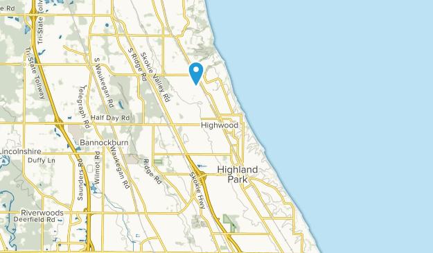 Highland Park, Illinois Map