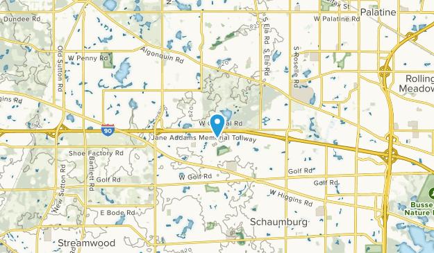 Hoffman Estates, Illinois Map