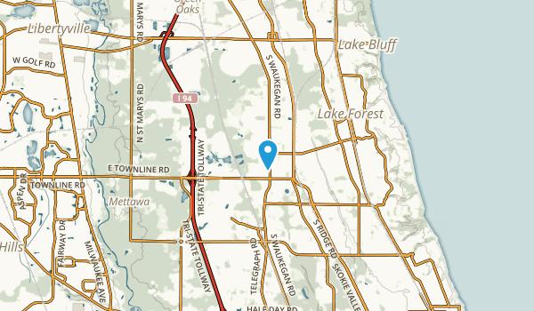 Kennedy, Illinois Map