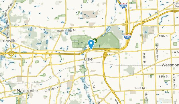 Lisle, Illinois Map
