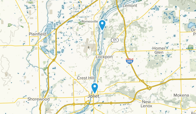 Lockport, Illinois Map