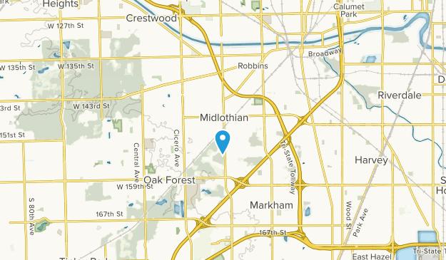 Midlothian, Illinois Map