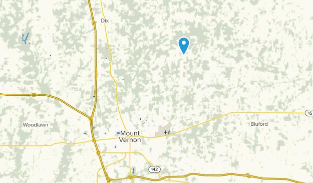 Mount Vernon, Illinois Map