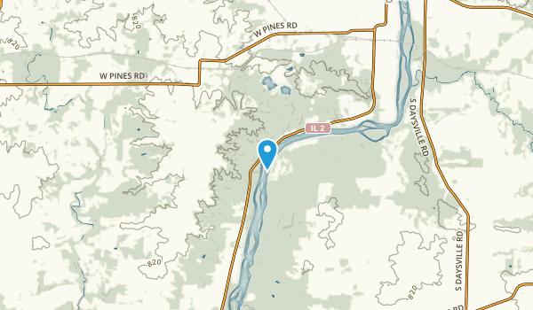 Oregon-Nashua, Illinois Map