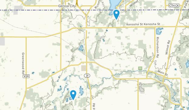 Richmond, Illinois Map