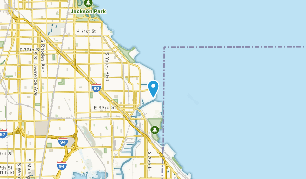 South Chicago, Illinois Map
