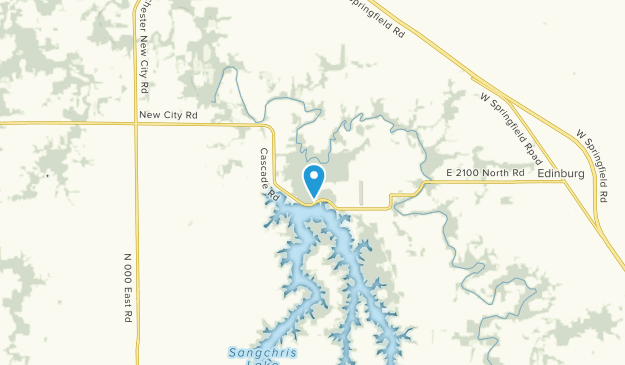 South Fork, Illinois Map