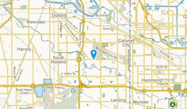 South Holland, Illinois Map